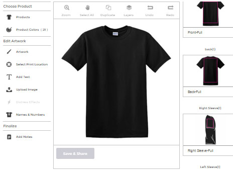 aeb61ee8cac Click Here To Start Designing a T-Shirt online