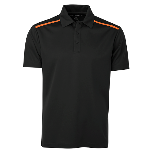 Black / Neon Orange